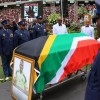 Senzo Meyiwa funeral: South Africa mourns shot footballer