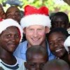 Prince Harry's gift outing to Africa held on camera