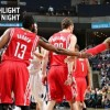 Josh Smith debuts with 21 points as Rockets tip Grizzlies in OT