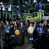 Christie declares state of emergency, trains close down